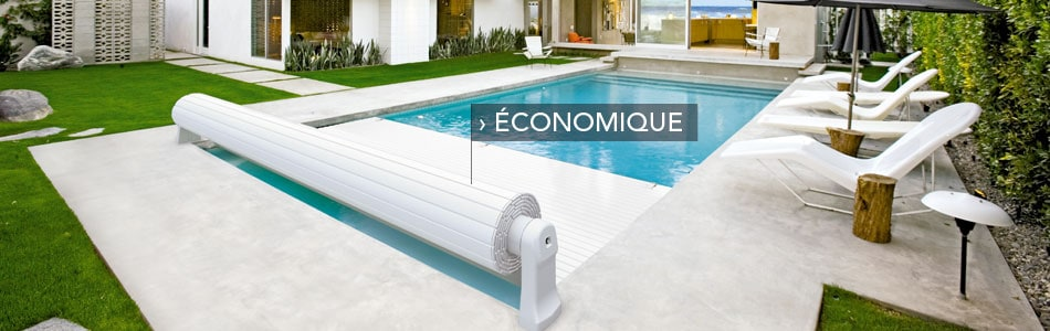 Aqualife couvertures automatiques de piscine la gamme for Piscine couverture mobile